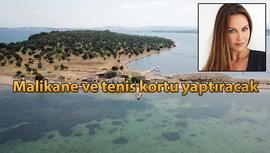 Hülya Avşar, Ayvalık'tan 55 milyon TL'ye ada aldı!