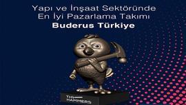 Buderus Türkiye, The Hammers ödülünü aldı