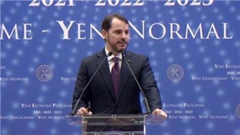Bakan Albayrak ekonomideki 3 yıllık yol haritasını açıkladı