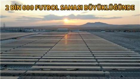 Dünyanın en büyük güneş enerji santrali üretime başladı
