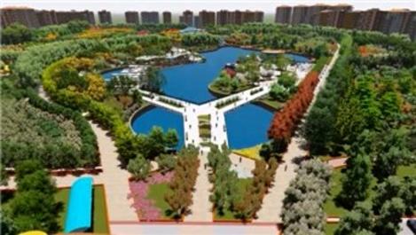 Malatya'ya 300 dönümlük park