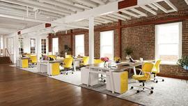 Gösterişli ofisler yerini küçük ofislere bıraktı!