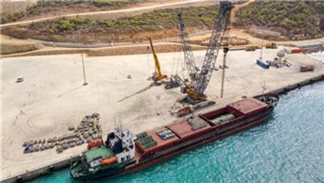 Buhar jeneratörleri Akkuyu 'Doğu' deniz terminaline ulaştı