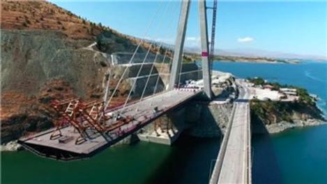 Yeni Kömürhan Köprüsü 15 Aralık'ta açılıyor