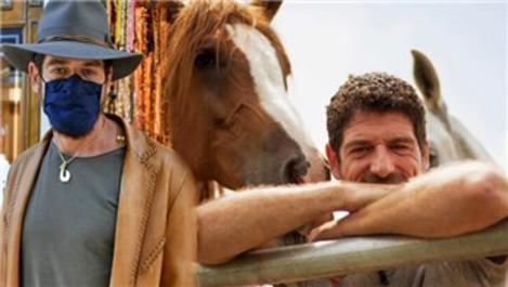Cemal Hünal at çiftliğine kilit vurdu