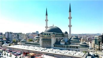 Taksim Camisi'nin yüzde 80'i tamam! İşte son durum!