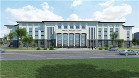 Bakan Gül, Adalet Sarayı'nın görsellerini paylaştı