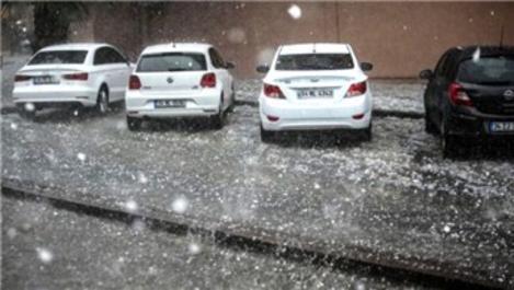 İstanbul dikkat! Dolu yağışı geliyor!