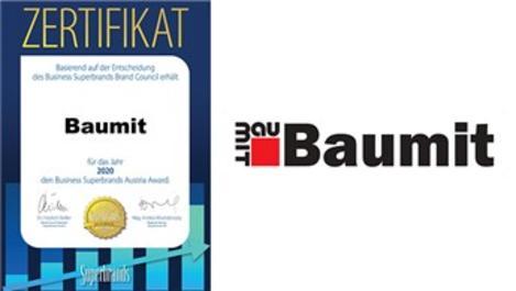 Baumit'e Superbrand 2020'den bir ödül daha!