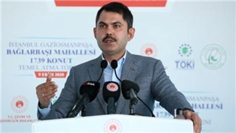 'İstanbul'da 65 riskli alanımız var'