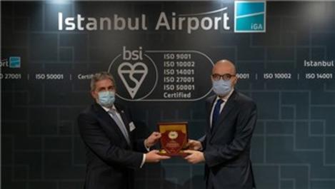 İstanbul Havalimanı'na uluslararası bir sertifika daha!