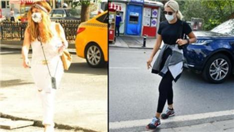 Pınar Sabancı ve Serap Tibuk  Bebek'te yürüyüş yaptı