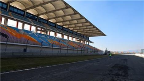 Formula 1 için asfalt yenileme çalışmaları başladı