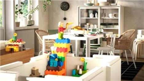 IKEA ve Lego'dan Bygglek koleksiyonu!