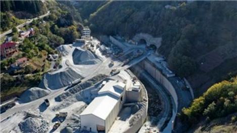 Zigana Tüneli'nin havalandırması Avrupa'da ilk olacak