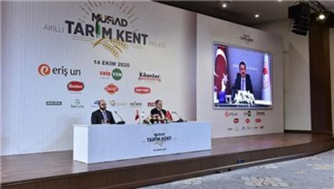 MÜSİAD, Akıllı Tarım Kent Projesi için düğmeye bastı