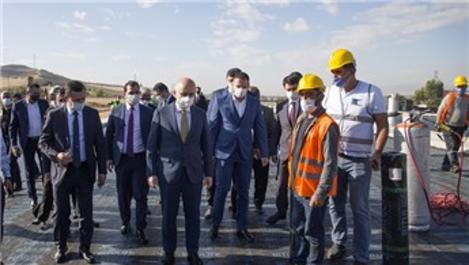Bakan Karaismailoğlu Ankara yolundaki çalışmaları inceledi