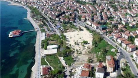 Albatros sahili park alanı olarak kalacak