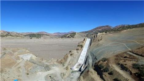 Elazığ Kanatlı Barajı'nda sona doğru!