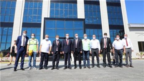KKTC Başbakanı şehir hastanesini ziyaret etti!