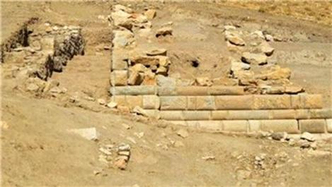 Afyonkarahisar'da Helenistik döneme ait 'duvar' bulundu