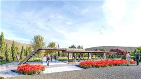 TOKİ'den Aksaray'a Millet Bahçesi!