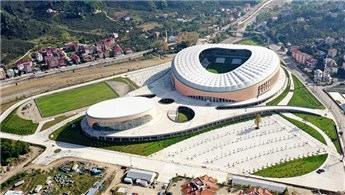 Çotanak Stadı'nın inşaatı tamamlanmak üzere!
