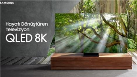 Samsung'un yeni üyesi Q950T QLED 8K Smart TV