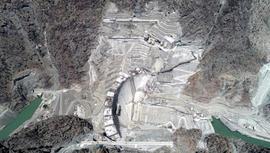 Yusufeli Barajı'nda son 34 metre!