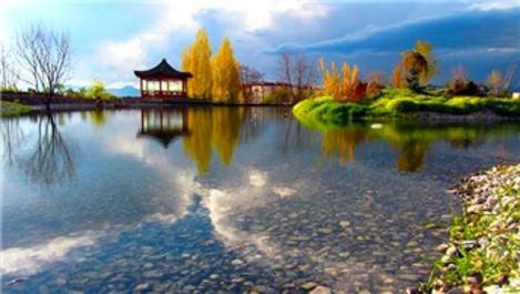 Erzurum Ata Botanik Park ziyaretçi akınına uğruyor!