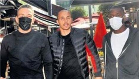 Mevlüt Erdinç, takım arkadaşlarıyla Vadistanbul'da!
