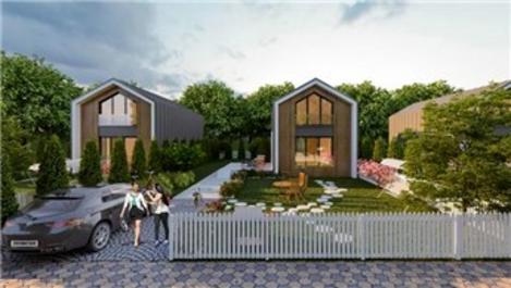 Villa de Piar Doğa Evleri'ne Arizon Yapı imzası!