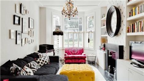 Küçük salonlar için 'büyük' dekorasyon önerileri!