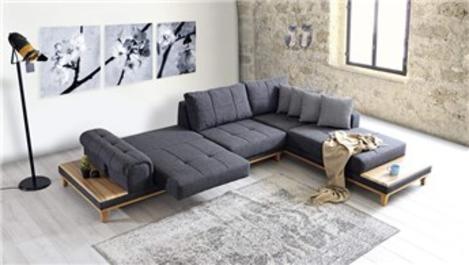 Evlerde köşe koltuk kullanımı için dekorasyon önerileri!
