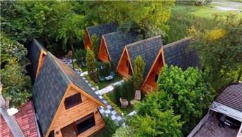 Sakarya'daki ekolojik evlere ilgi büyük!