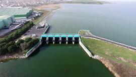 İstanbul'un barajlarındaki su seviyesi %30,89'a indi