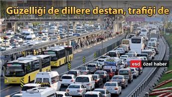 İstanbul trafik yoğunluğunda Avrupa liderliğine oynuyor!