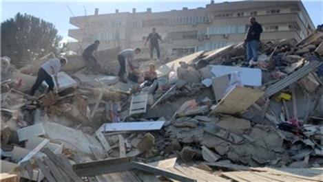 Bakan Soylu: 'İzmir'de 6 bina yıkıldı'