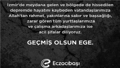 Cemiyet hayatından İzmir'e destek mesajı yağdı!
