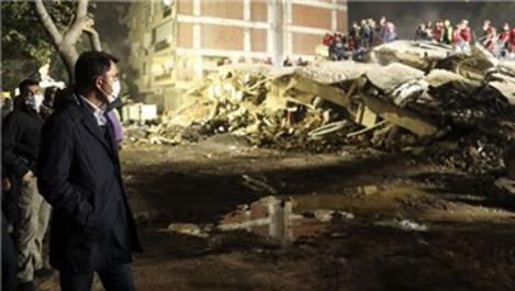 'Hasarlı binaların yıkım sürecini başlattık'