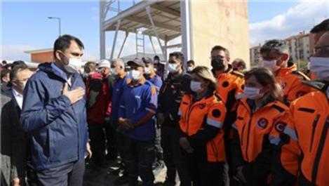 Bakan Kurum, İzmir'de konteyner kentleri inceledi!