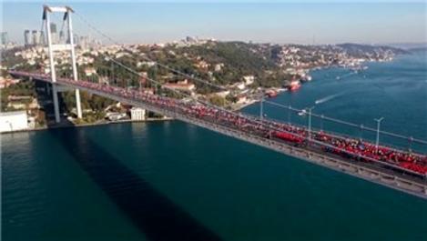 İstanbul Maratonu'nda trafiğe kapatılacak yollar!