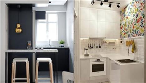 Küçük mutfakları maksimum konfora dönüştürün!