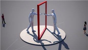 Bursa Millet Bahçesi'ne 'Dünya Aynası' heykeli!