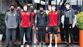 Galatasaraylı basketbolcular Aqua Florya AVM'de!