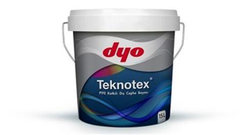 DYO Teknotex ile kir ve suya karşı yüksek direnç!