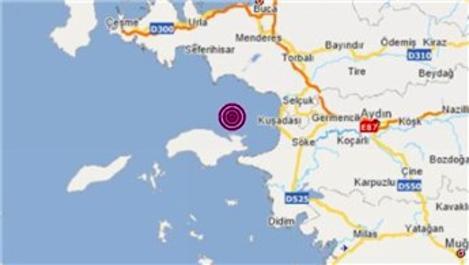 İzmir, 4.2 büyüklüğünde depremle sallandı!