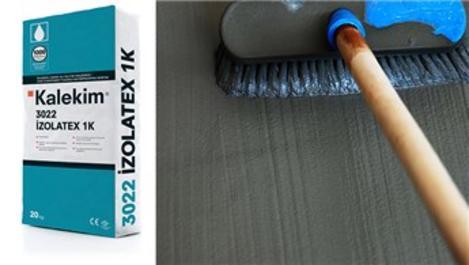 Kalekim İzolatex 1K, yüksek performanslı su yalıtımı sağlıyor!