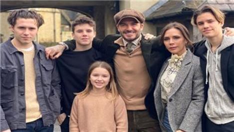 Beckham ailesi 6 milyon sterlinlik evde karantinaya girdi!