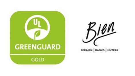 Bien, Greenguard Gold Sertifikası almaya hak kazandı